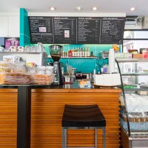 Kahava cafe นางลิ้นจี่ ในปั้มบางจาก