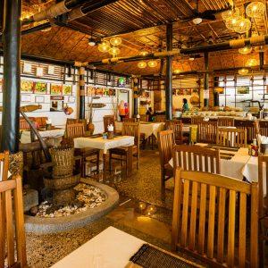 ห้องอาหาร ครัววิลเลจ โรงแรมไร่เลย์ วิลเลจ กระบี่
