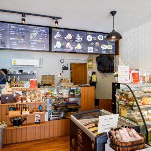 ขนมขิง คาเฟ่ Kanomkink Cafe โครงการสมบัติบุรี บางบัวทอง