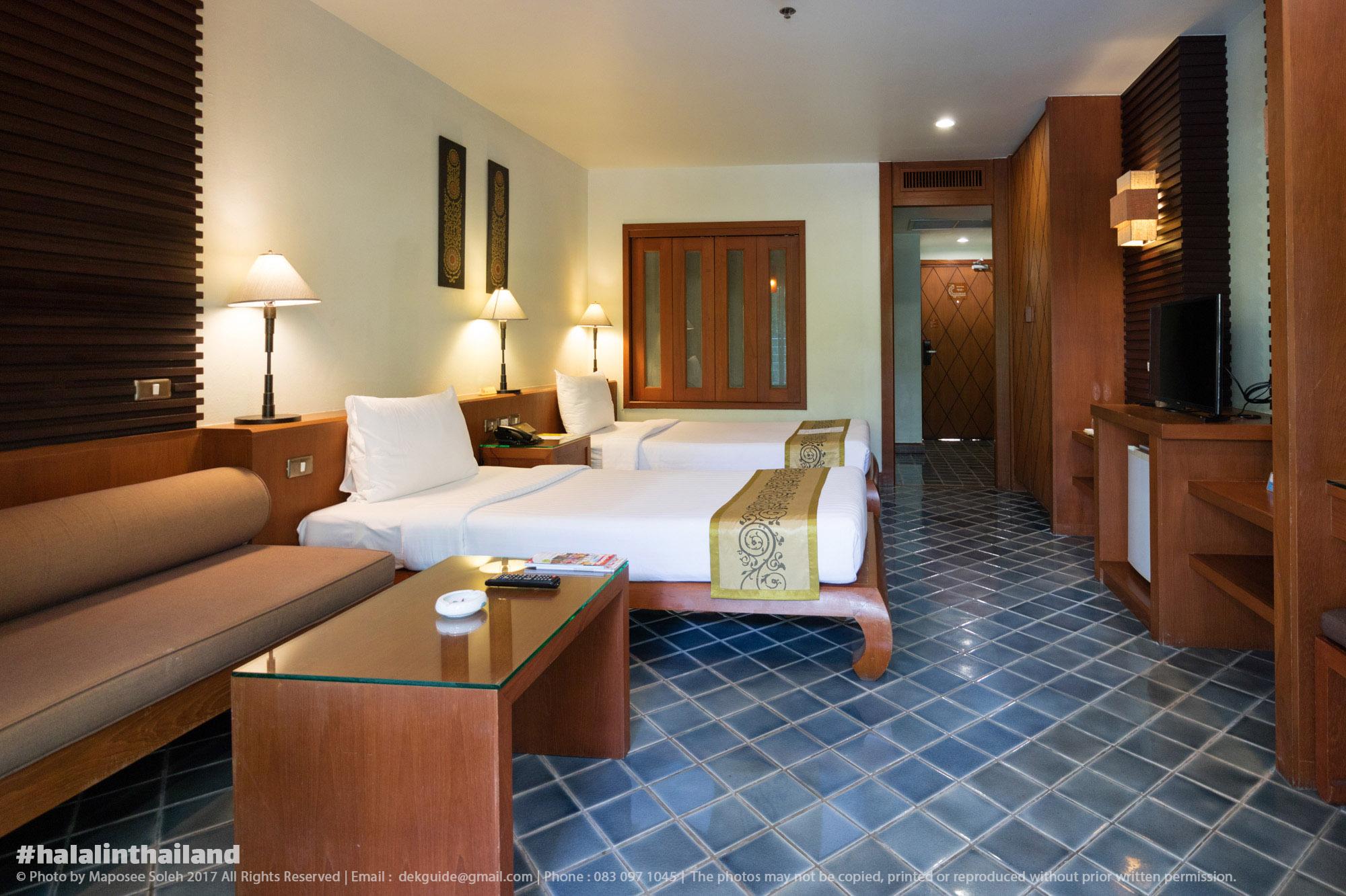 โรงแรมฮาลาล ภูเก็ต ห้องอาหารคาซาบลังก้า เดอะ รอยัล พาราไดซ์ โฮเทล แอนด์ สปา ภูเก็ต