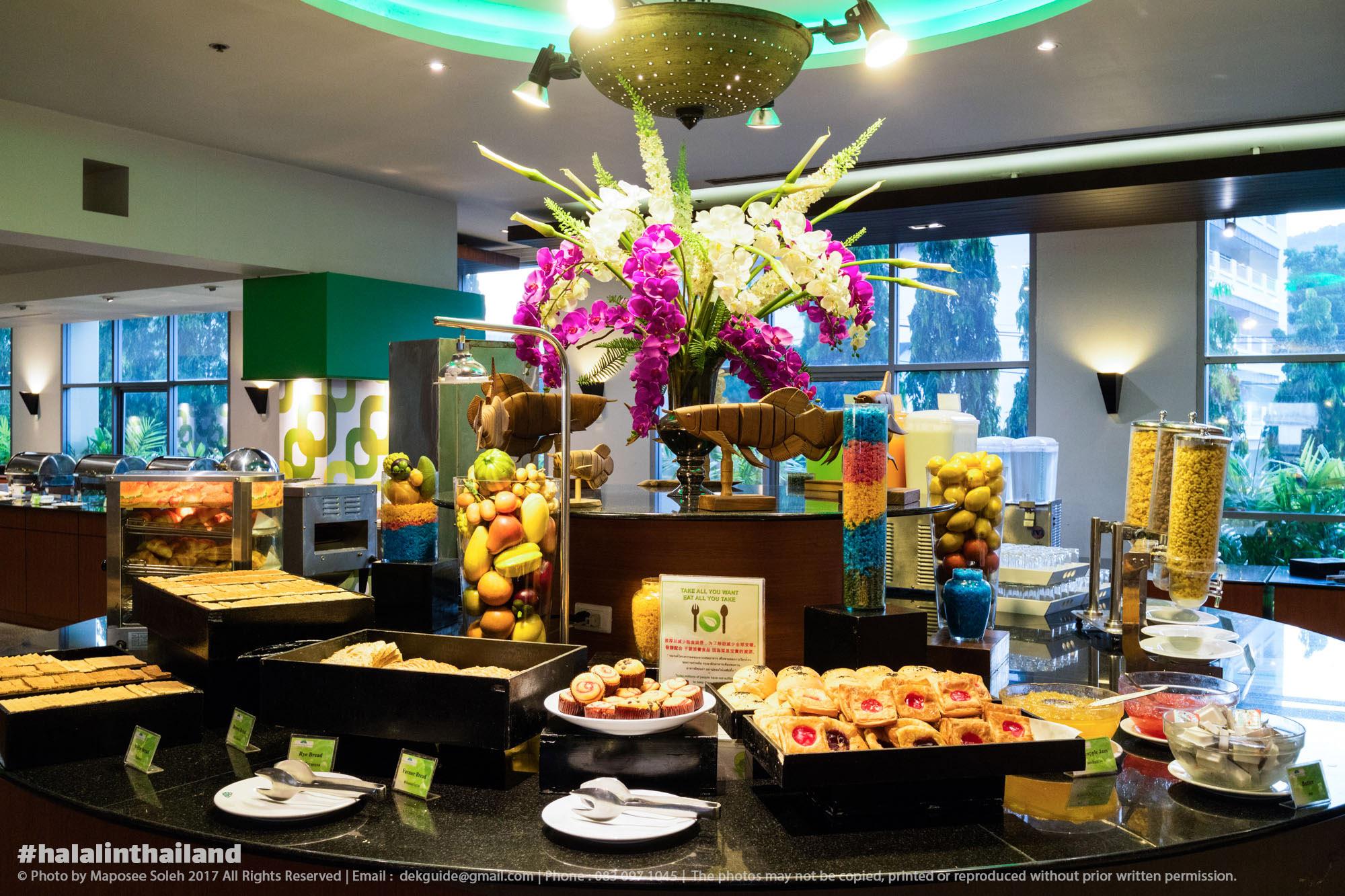 ห้องอาหารคาซาบลังก้า เดอะ รอยัล พาราไดซ์ โฮเทล แอนด์ สปา ภูเก็ต