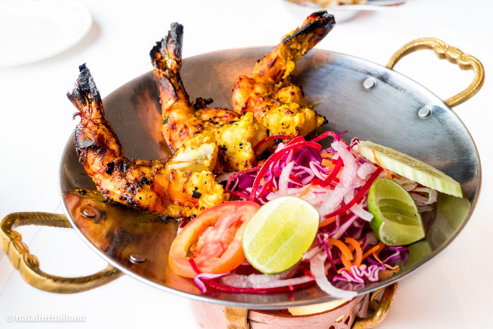 Badsahi jheenga tandoori - Cottage Cheese • Rang Mahal รางมาฮาล โรงแรมแรมแบรนดท์ กรุเทพฯ
