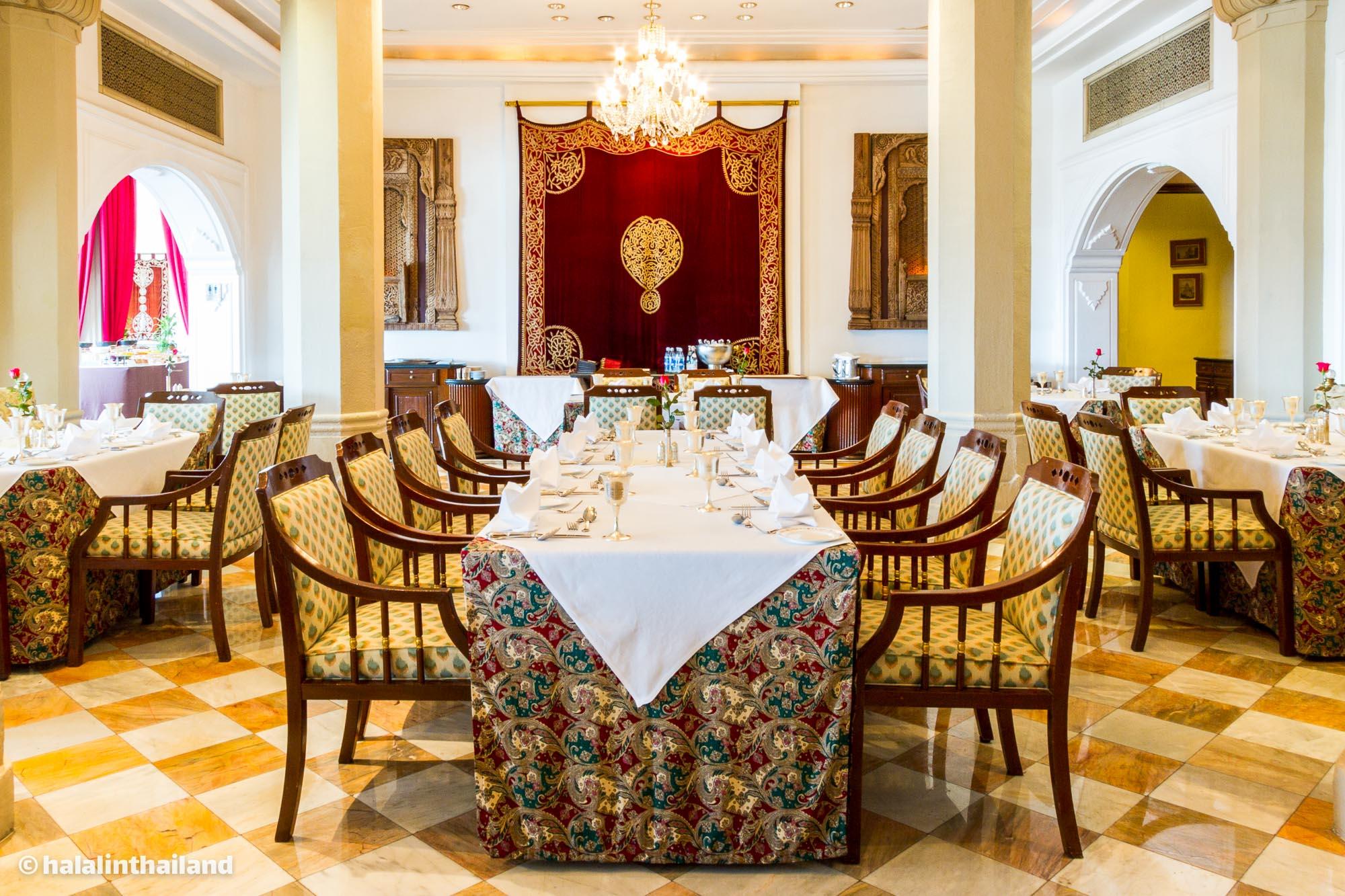 Rang Mahal รางมาฮาล โรงแรมแรมแบรนดท์ กรุเทพฯ