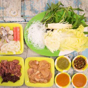 โสอุดร เนื้อกระทะ โรงอาหาร ราม่า Retro Halal Canteen